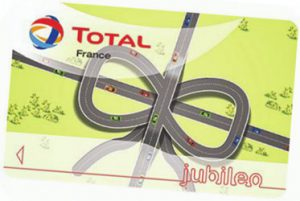 carte carburant total jubileo